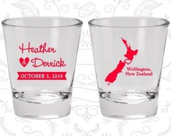 New Zealand Shot Glass, New Zealand Shot Glasses, New Zealand Glass, New Zealand Glasses, New Zealand Glassware (185)