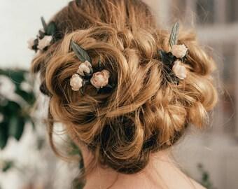 Poppy Rose Hair Pin