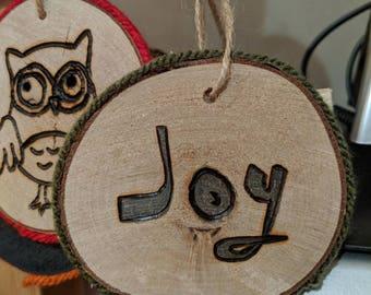 Christmas Tree Ornament (joy)