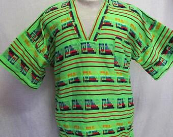 Guatemala Shirt Mexican Shirt  Retro Neon Shirt Tribal