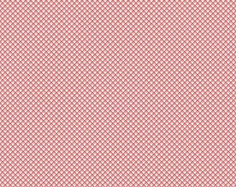 Riley Blake - Sweet Prairie Gingham C6545 Pink by Sedef Imer - Calico, Quilt, Quilting, Crafts