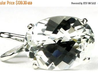 On Sale, 30% Off, Silver (White) Topaz, 925 Sterling Silver Pendant, SP004