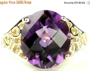 On Sale, 30% Off, Amethyst, 14KY Gold Ring, R057