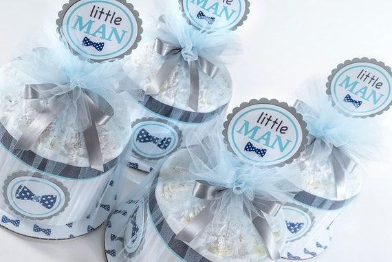 Diaper Cake - Diaper Cakes - Little Man Diaper Cake - Bow Tie Baby Shower - Baby Shower Decor - Little Man Baby Shower - Bow Tie Theme