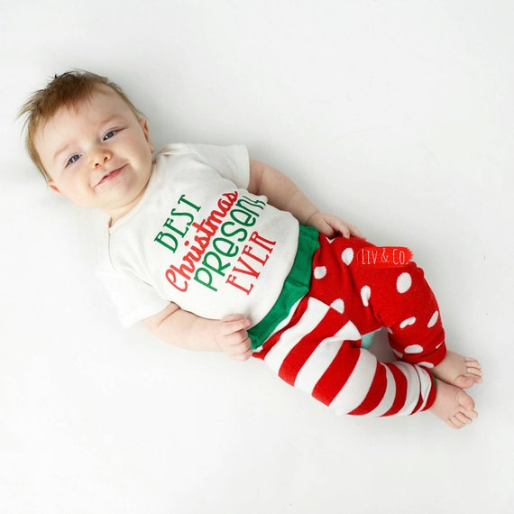 Baby Boy Christmas Outfit First Christmas Outfit Baby Boy