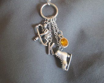 Hockey Charm Necklace