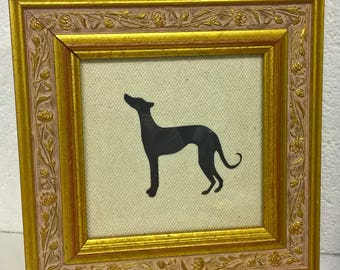 Sighthound picture - upcycled