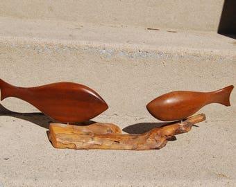 Beautiful Handmade wood Bird Sculpture