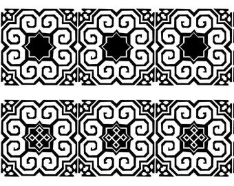 Hmong Elephand Border2- PNG for Die cutting machine Cricut - digital download-decals
