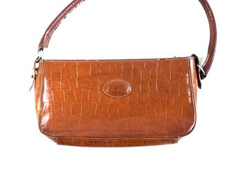 Mulberry Tan Leather Bag. Tan Leather Handbag. Mulberry Bag. Small Handbag. Leather Clutch. Tan Leather Handbag. Small Bag. Small Handbag