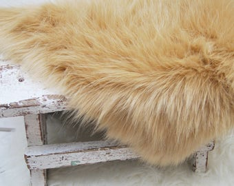 Basket Stuffer, Faux Fur, Long Pile Fur, Newborn Photo Prop, Newborn Fur, Newborn Props, Photo Faux Fur, Basket Filler, Baby Photo Fur, 165