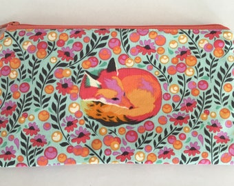 Pencil case, pen case, makeup bag, small bag, pencil pouch, zipper pouch, school supply,