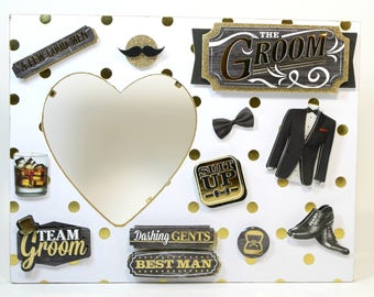 Groom/Wedding/Married/Marriage/Picture frame