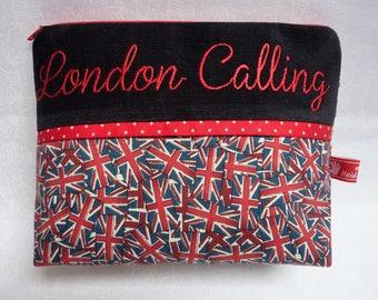Cosmetic Bag, Very Britisch, LONDON Calling