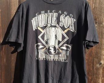 90's White Sox Tee
