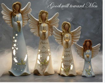 Angels  assorted sizes