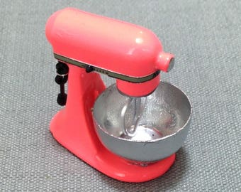 Kitchen Aid Mixer Miniature Red Accessory Kitchenware Supplies