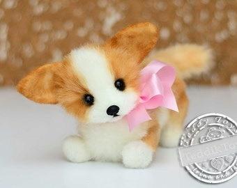 Welsh Corgi (made to order) Dog Plush Toy, Puppy Plush, Dog Stuffed Animal, Stuffed Toy