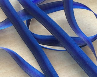 gradient shades of Blue Ribbon