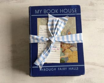 A Bundle of 3 Volumes of My Book House From 1937, Book Decor