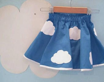 Cloud skater skirt