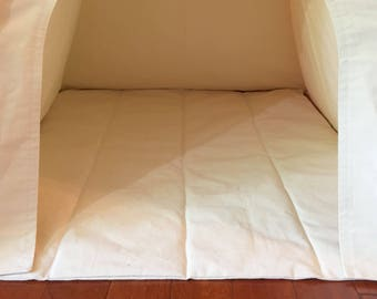 Kids Teepee Mat, Play Tent Floor Mat, Childrens Teepee Mat, 11 Colors Available, Organic White and Natural Available As Well