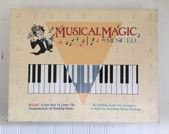 Musical Magic Vintage Board Game