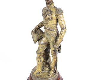 19th century Duke of Wellington Metal Sculpture