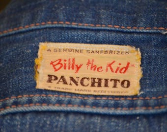 """Child's Vintage """"Billy the Kid"""" """"Panchito"""" Jeans"""
