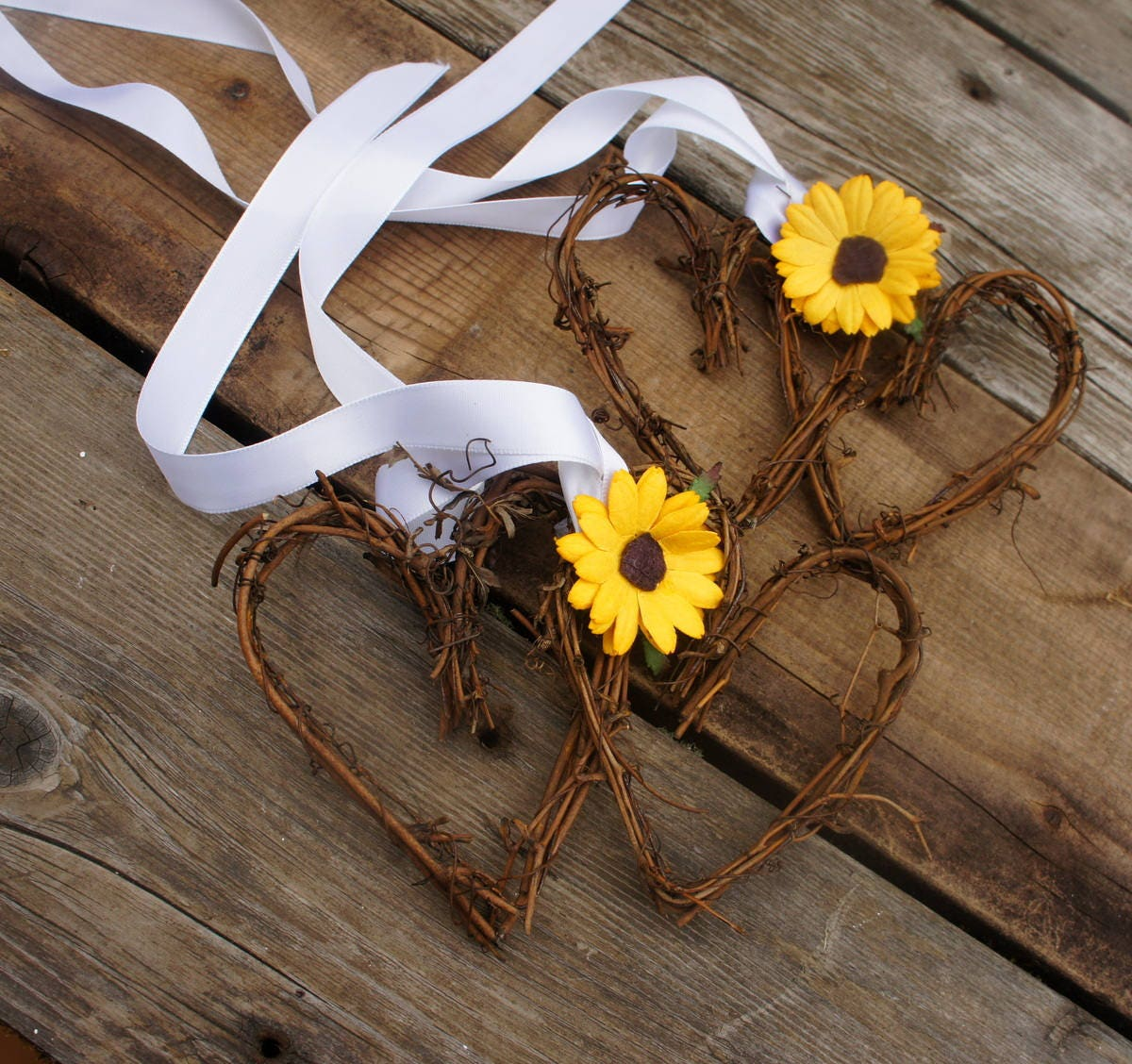 Rustic Pew Decorations For Fall Wedding Reception Or Autumn Bride