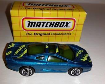 Vintage Matchbox Car Jaguar XJ220