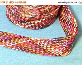 Summer Sale braided belt of color 4, 2 cm