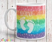 IVF Gift For Women, Infertility Gift, Miscarriage Gift, Adoption Gift, Rainbow Baby Pregnancy, PCOS, Pregnancy Loss, Rainbow Pregnancy Gift