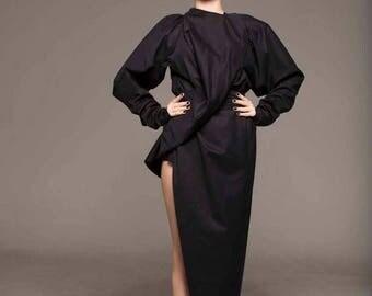 Dresses On Sale Black Gown, Black Long Sleeve Dress, Black Maxi Dress, Party Dress, Formal Dress, Renaissance Dress, Women's  Clothing, Fitt