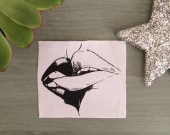 Kiss II / Sew On Patch