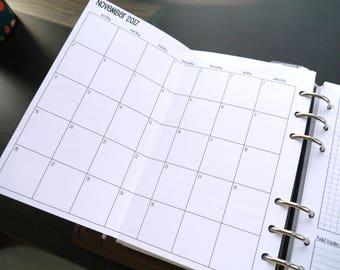 Folding Calendar Etsy