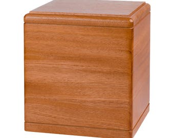 Mahogany President Wood Cremation Urn
