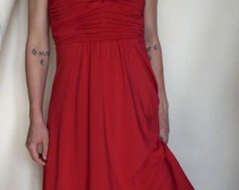 Original 1960s Red Dress