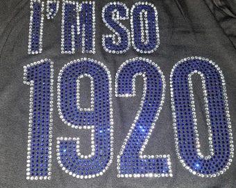 I'M SO 1920
