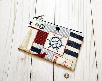 Sea Patch Small Zipper Pouch