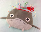 FFXIV Namazu Pouch   Namazu Minion Pencil Case   FFXIV Pouch   Cute Catfish Bag