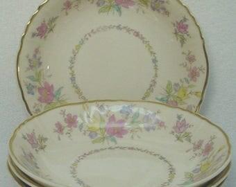 Four BRIARCLIFF Fruit Bowls Syracuse China