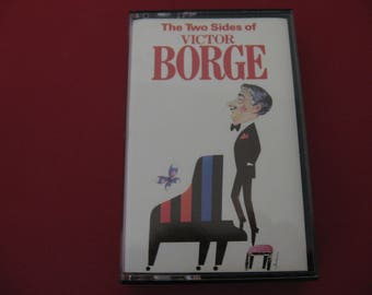 Victor Borge - The Two Sides Of Victor Borge - Circa 1987  (Cassette)