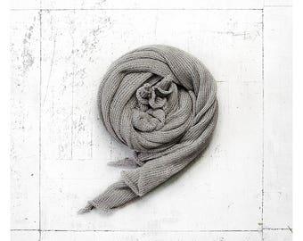 Linen scarf. Linen shawl. Grey linen scarf. Linen wrap. Summer scarf. Unisex scarf. Natural linen scarf. Linen scarves. Linen. Long scarf