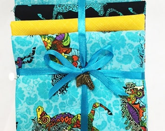 Novelty Quilting Sewing Fat Quarter Color Pack - Painted Ponies