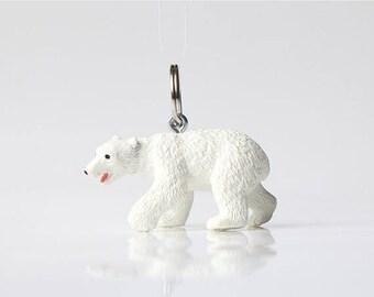 "SALE Key chain ""Polar bear"""