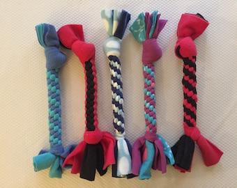 1 Dog Fleece Rope Toy