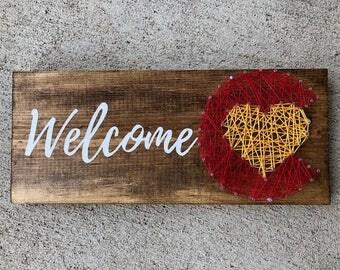 Colorado String Art, Colorado Gifts, Colorado Art, Colorado Flag, Denver Sign, Colorado Wooden Sign, Welcome Sign, Wooden Welcome Sign