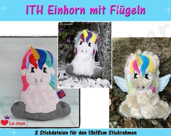 Unicorn (size M) - ITH ITH for the 13x18cm frame