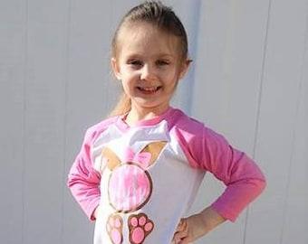 Easter Glitter Monogram, Easter Shirt, Easter Monogram, Girls Easter Shirt, Girls Easter Monogram, Children Easter Shirt, Kids Easter Shirt